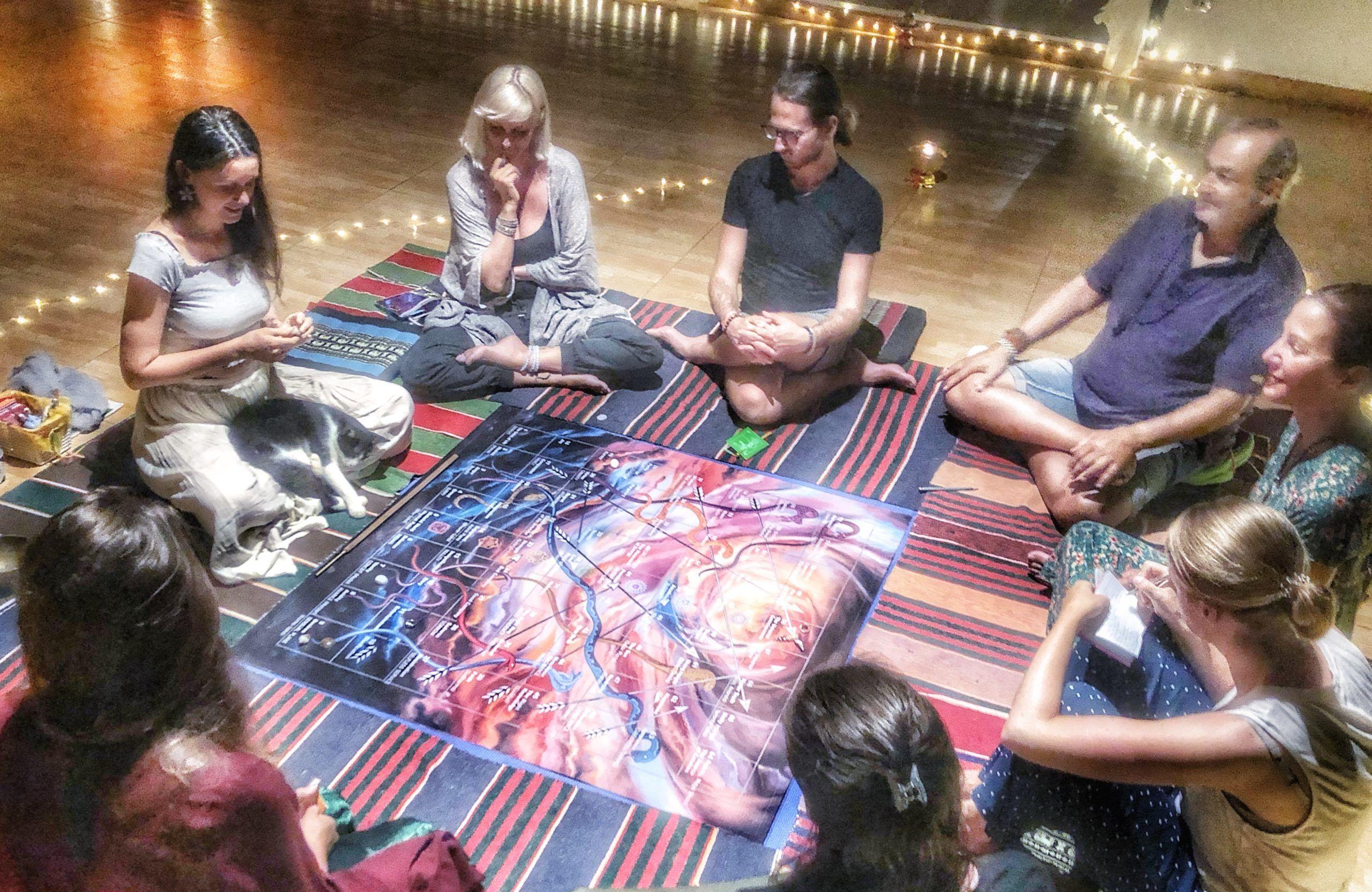 Leena the divine play, retreat Thailand